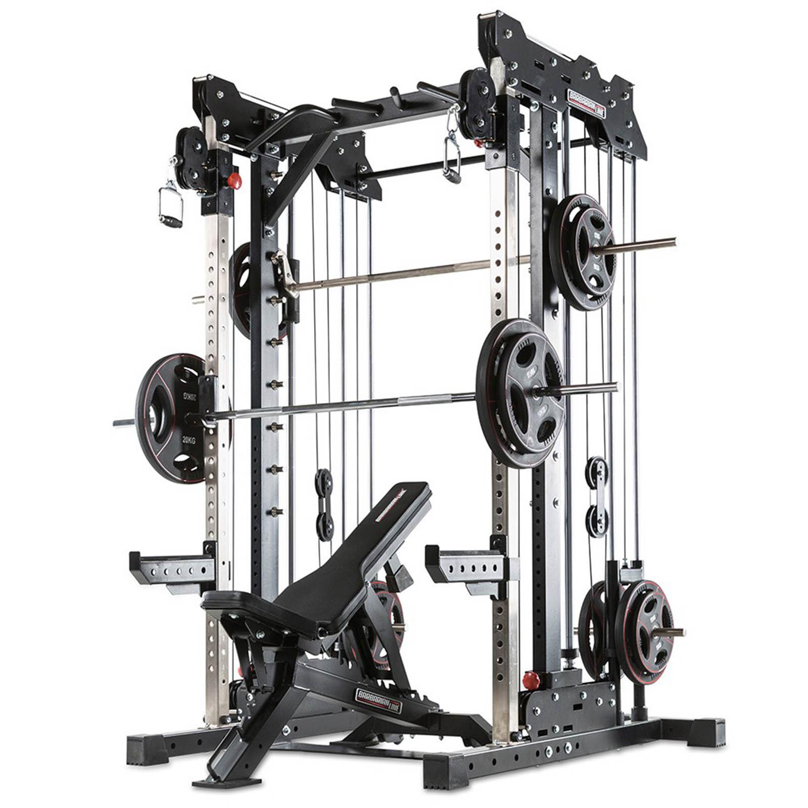 barbarian smith rack gym