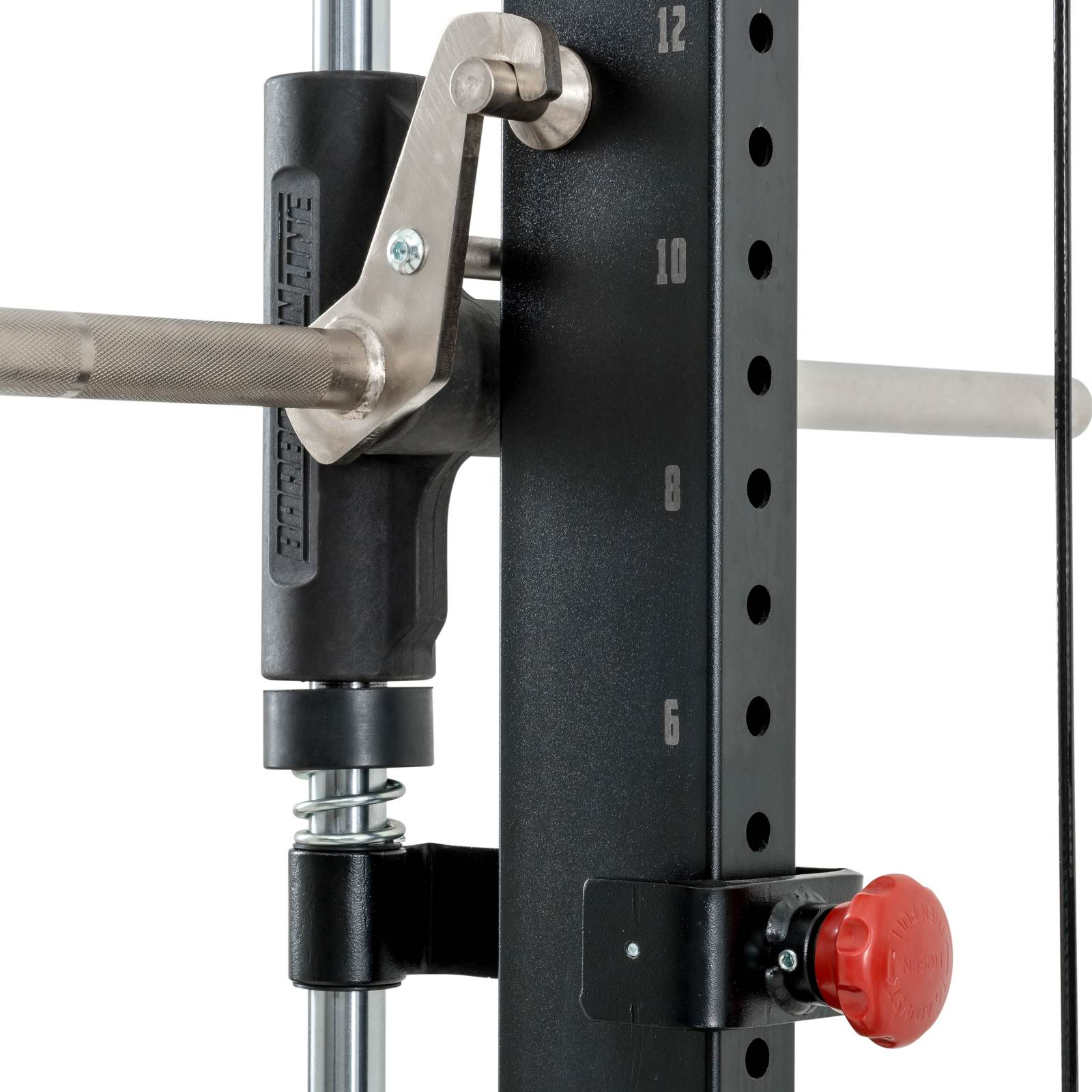smith machine spotter system
