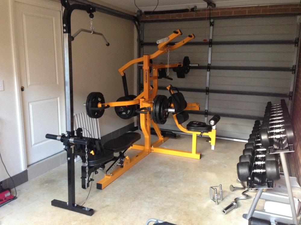 Brendans multi system and dumbbell gym
