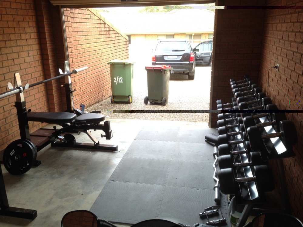 Ryans free weight home gym
