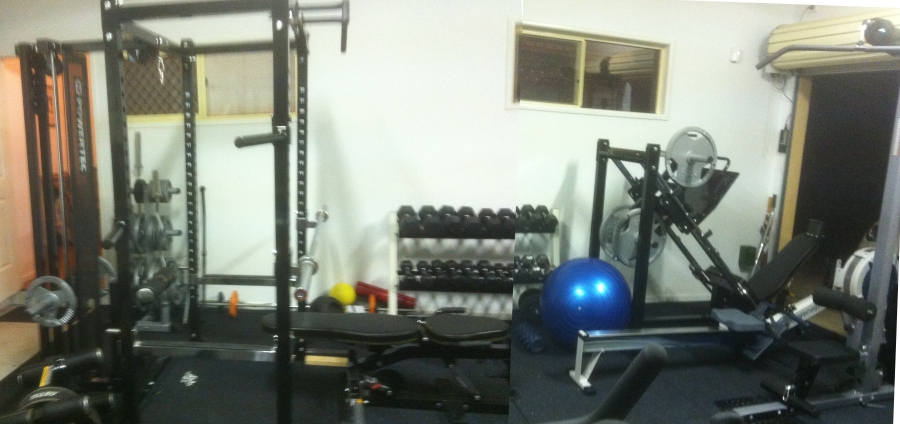 Garage weight rack stick with the basics id recommend starting