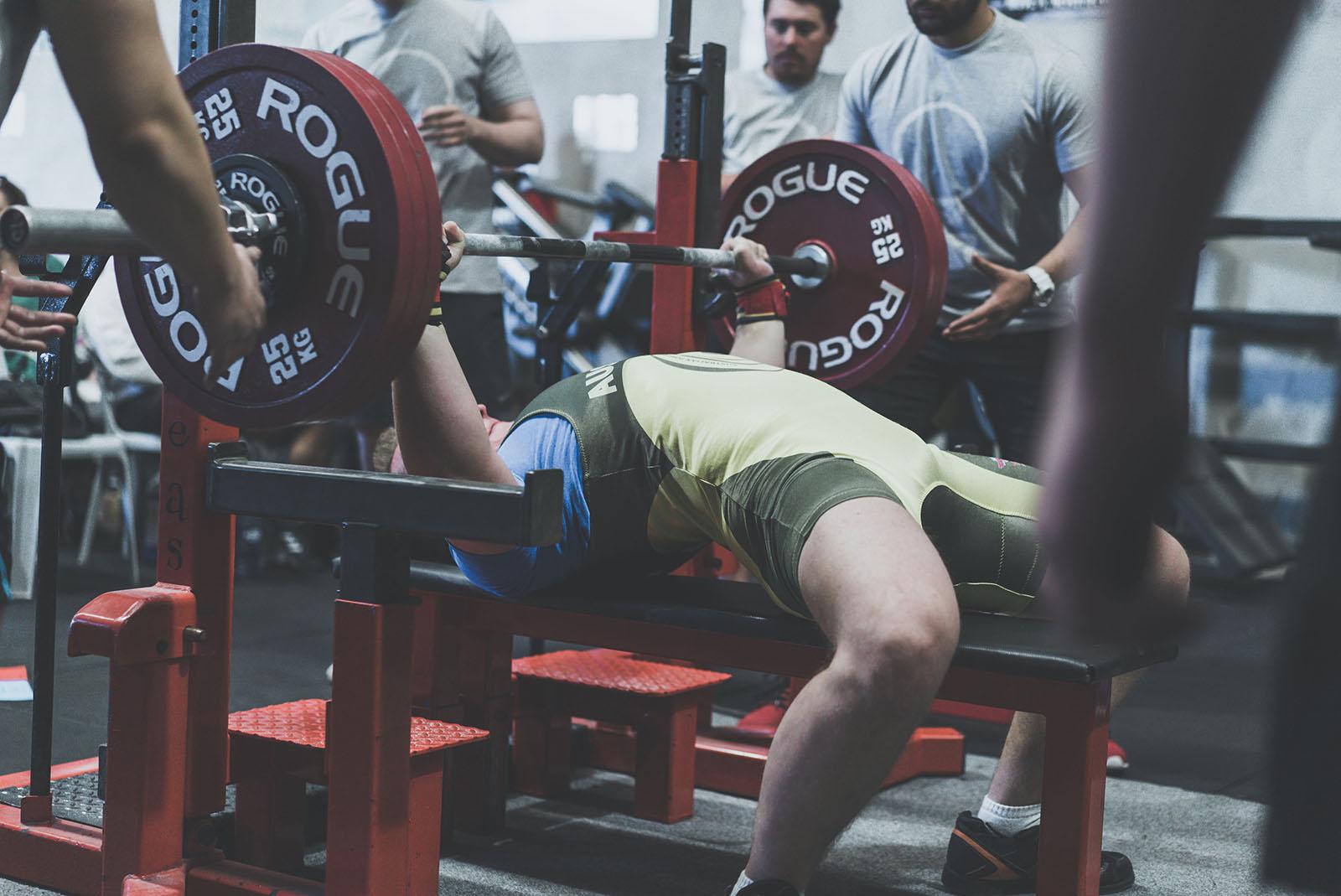175kg bench press