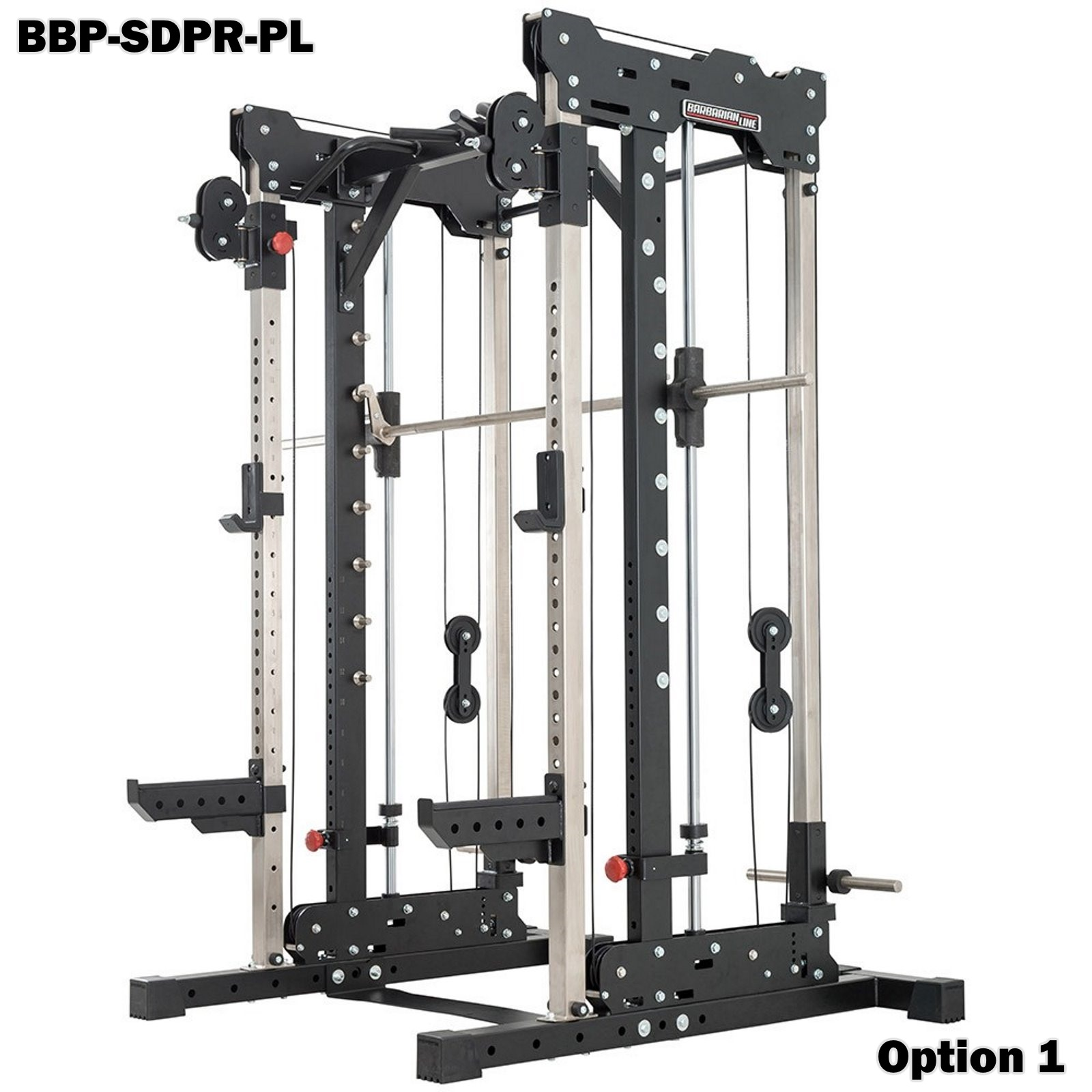 barbarian smith cable rack plate loaded