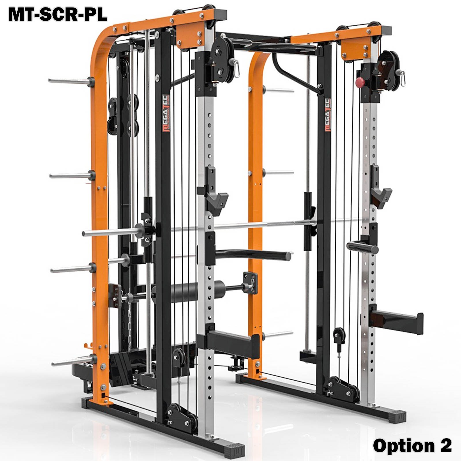 megatec smith cable rack plate loaded