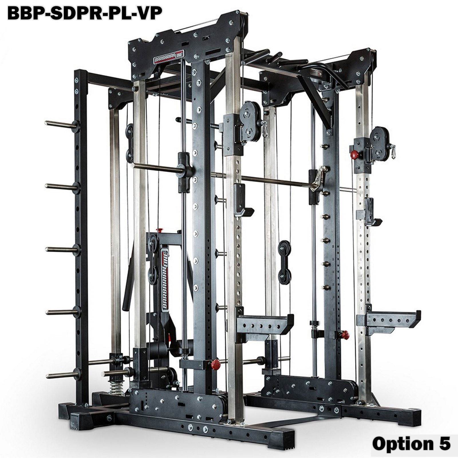 barbarian smith cable rack system package